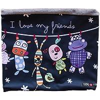 Tris&Ton bufanda para bebé niño niña invierno, braga de cuello modelo Friends (Trisyton)