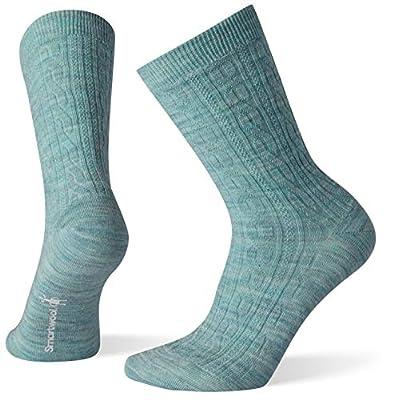 Smartwool Women's Cable II Socks - Ultra Light Cushioned Merino Wool Performance Socks
