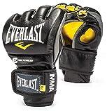 Everlast 7674M MMA Powerlock Fight Gloves Black M