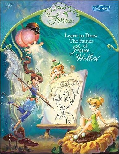 Disney fairies learn to draw the fairies of pixie hollow disney disney fairies learn to draw the fairies of pixie hollow disney magic artist learn to draw books disney storybook artists 9781560109587 amazon altavistaventures Choice Image