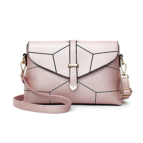pink Stylish Cross pattern Auspicious Body Adjustable Bag Simple beginning Envelope and Women's wnnq16gP