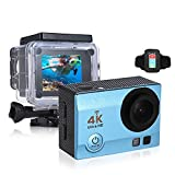 OLSUS 2 inch HD LCD Screen 4K 30fps 16MP Wi-Fi Sports Action Camera - Blue