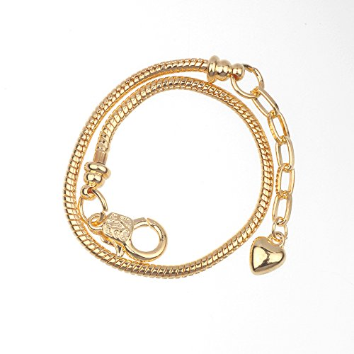 White Gold Assorted Link Chain - 1