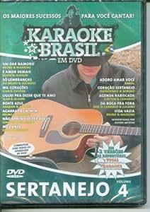 Karaoke Brasil - Sertanejo Volume 4