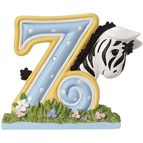 Precious Moments, Z Is For Zebra Alphabet Resin Figurine, 153440 (Precious Moments Zebra)