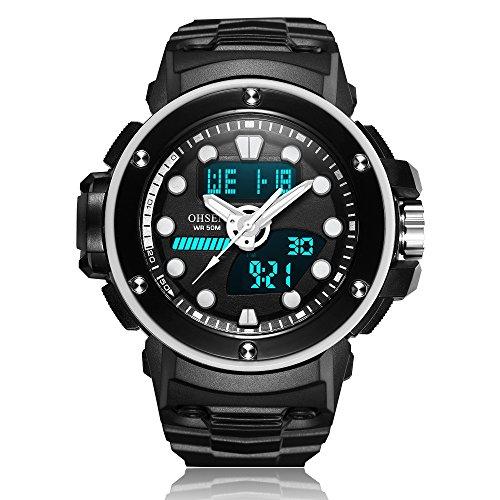 Relojes de Hombre para Hombre/Mujer Deportes y Ocio Multifuncional ...