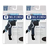 Truform Men's 15-20 mmHg Knee High Cushioned