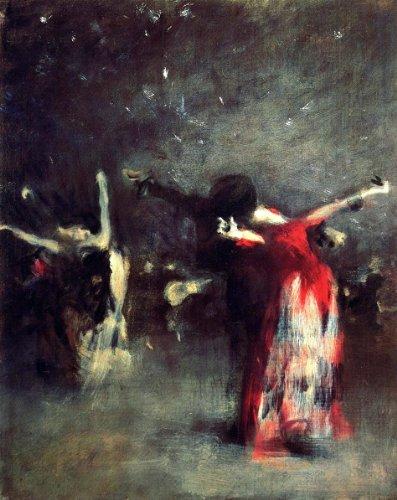 Spanish Dancer Study (John Singer Sargent Study for 'The Spanish Dance' - 20.1