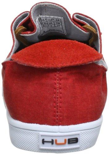 Hub Kyoto C W12-03 C-C01-24 Damen Sneaker Rot (red/wht 24)