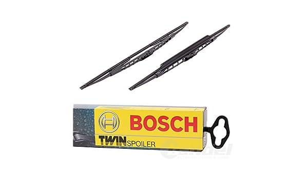 Bosch Twin 488S 3397001488 Discos Limpiaparabrisas Frontal Delantero Juego para limpiaparabrisas con spoiler: Amazon.es: Coche y moto