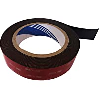 Double Sided Adhesive Tape, 3M 5952 VHB Heavy Duty Tape, Waterproof Foam Tape, 16.5 feet Long, 1 inches Wide, 0.043…