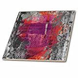 3dRose Andrea Haase Inspirational Typography - Modern Art With Quote Close The Door That No Longer Leads Somewhere - 6 Inch Glass Tile (ct_268341_6)