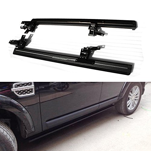(Chebay Deployable Electric Running Boards Fits for Land Rover Discovery 4 LR4 2010-2016 Retractable Extended Cab Nerf Bars Side Steps Side Bars)