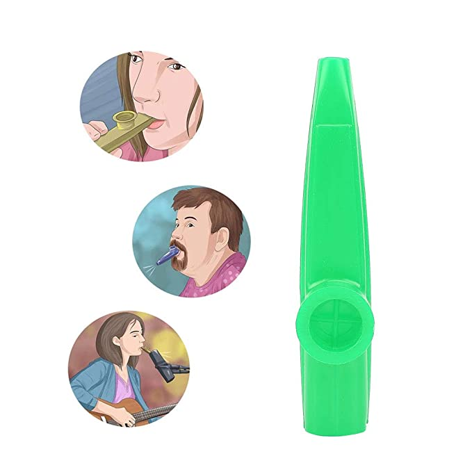 Keep DRUM Kazoo Yellow Plastic Music Toy
