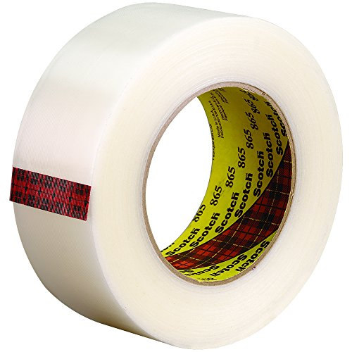 3M 865 Strapping Tape, 2'' x 60 yd. by Ship Now Supply