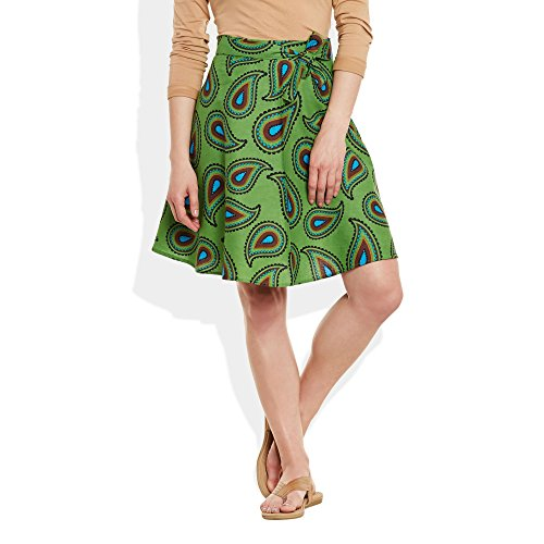 ShalinIndia - Copricostume -  donna Verde  Large