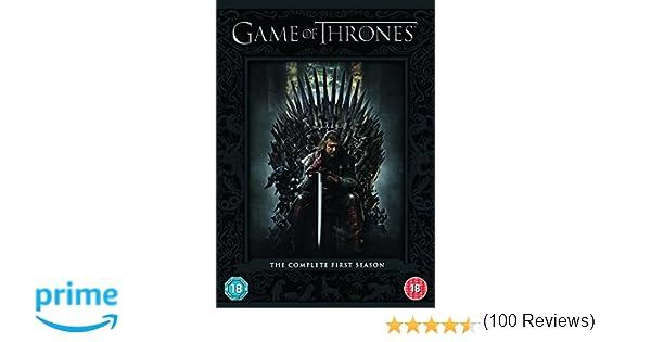 Juego de Tronos Temp. 1 Importado Reino Unido DVD: Amazon.es: Lena ...