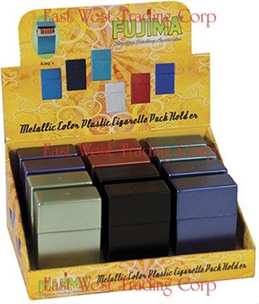 Hard Box Full Pack Cigarette Case (King Size) (Assorted Colors) - Pack Cigarette Holder