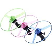 YANZHU Vliegend Speelgoed - Handbediening Kleurrijke Led-Lichtverwerking Flits Vliegend Speelgoed Grappig Flitser Trek…