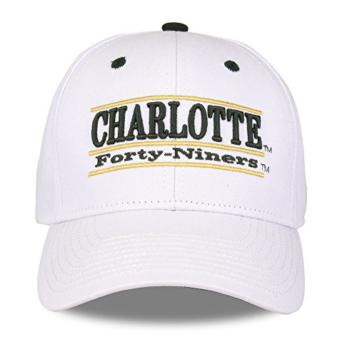 Charlotte 49Ers Unisex NCAA The Game bar Design Hat, White, Adjustable ()