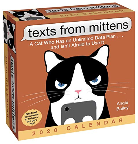 Pdf Humor Texts from Mittens the Cat 2020 Day-to-Day Calendar