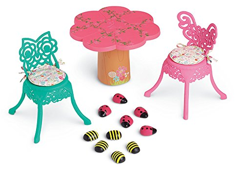 (American Girl WellieWishers Garden Party Table & Chairs)