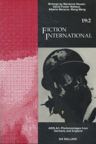 Fiction International 19 2  Aids Art  Photomontages From Germany And England