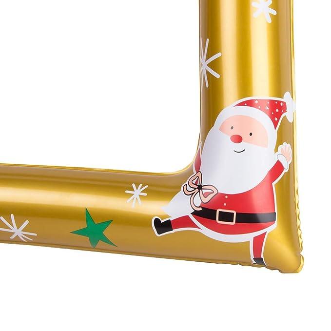 Marco de Fotos de Fiesta Marco de fotos inflable Navidad ...
