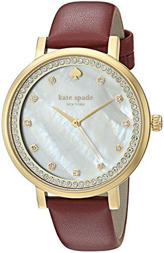 - kate spade new york Women's KSW1170 Monterey Analog Display Quartz Red Watch