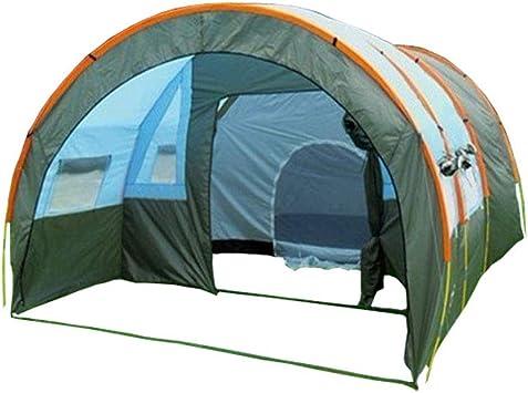 Carpas para Equipos de Gran tamaño Multi-Persona 8-10 Personas, un Dormitorio, Dos Habitaciones, Camping Carpa colectiva de campaña para el túnel, Tiendas de campaña 5-8 Personas de Dos Pisos: Amazon.es: Deportes y