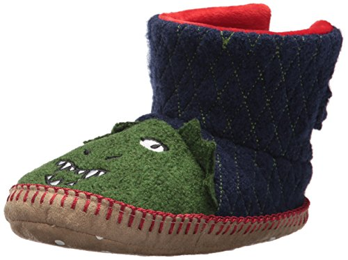 Hanna Andersson Baby Girl's and Boy's  Slipper, Dragon, 4 M US Toddler