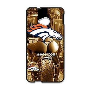 Unique Design Denver Broncos Sexy Passion gold Art Moto Cool Case for HTC One M7 Cases