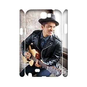 DDOUGS Bruno Mars Best Cell Phone Case for Samsung Galaxy Note 2 N7100, Custom Samsung Galaxy Note 2 N7100 Case