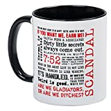 CafePress Scandal Quotes Mug Unique Coffee Mug, Coffee Cup