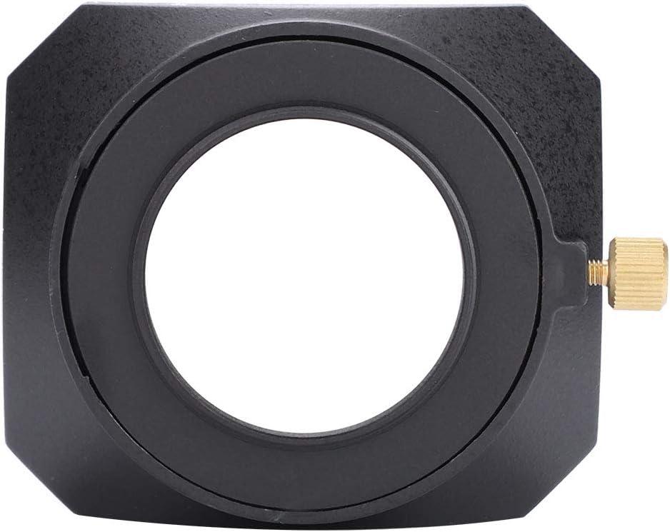 Reemplazo de Sombra de Campana de Lente Rectangular port/átil para videoc/ámara DV C/ámara de Video Digital Filtro de Lente Topiky Parasol de Lente 37mm