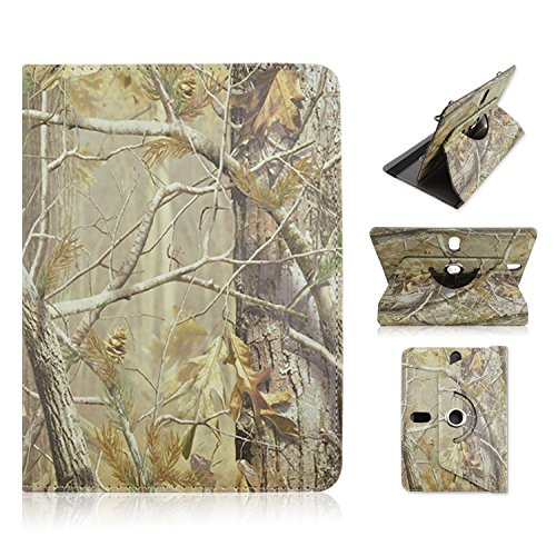 "Polaroid 8"" 8 inch Tablet BROWN CAMO OAK TREE Universal C..."