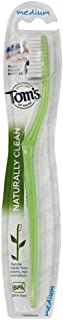 product image for Tom's of Maine Toothbrush Naturally Clean, Medium 1 ea (Pack of 4)