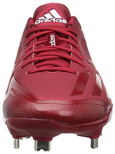 Adidas Originaler Mænds Freak X Kulstof Midten Baseball Sko Magt Rød / Universitet Rød / Hvid ILqmn