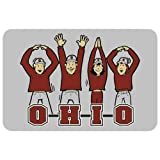 NCAA Ohio State Buckeyes Playing Cards with OH-IO People, One Size,Gray