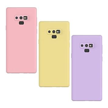 KOTPARX Funda para Samsung Galaxy Note 9, Carcasa Silicona Gel Mate Case Ultra Fina Delgado TPU Goma Flexible Bumper Shock Protección Anti-Arañazos ...