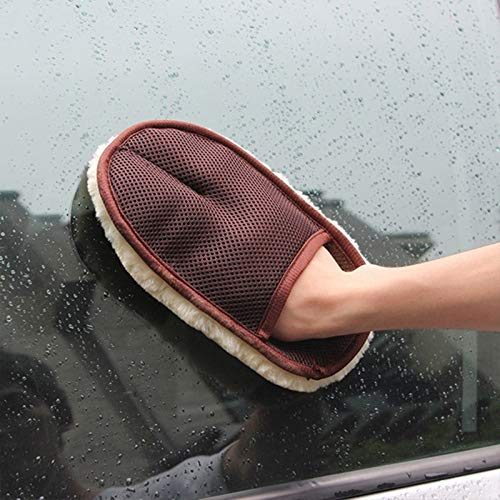 Winbang Nettoyage Entretien Automobile Brosses de Polissage Brosse Super Clean Car Wash Laine Gant de Nettoyage de Voiture Brosse Auto Moto Laveuse