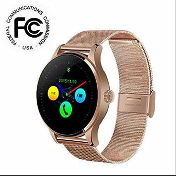 Smart Watch Reloj Deportivo Bluetooth Fitness Tracker Smart Wrist Band Paracord, dormir Monitor, tensiómetro