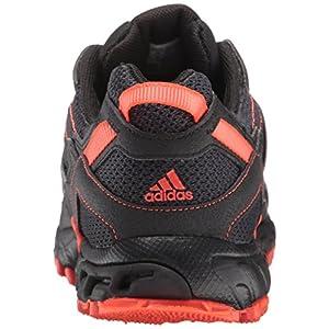 Adidas Men's Rockadia Trail M Running Shoe, Black/Black/Energy, 12 M US