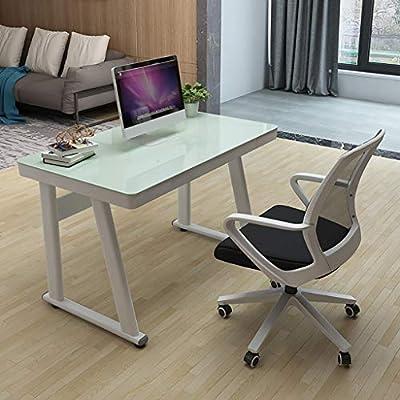 Mesa de ordenador Sencillo y moderno de vidrio templado de ...