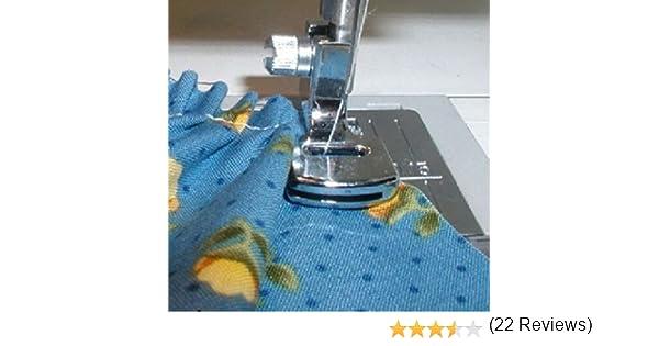 honeysew máquina de coser bajo filo prensatela de doble hilo ...
