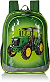 John Deere Boys' Backpack, Green Lime