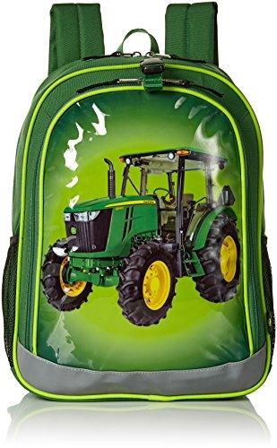 John Deere Boys' Backpack, Green Lime ()