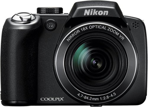 Nikon Coolpix P80 10.1MP Digital Camera with 18x Wide Angle Optical Vibration Reduction Zoom (Black) ()