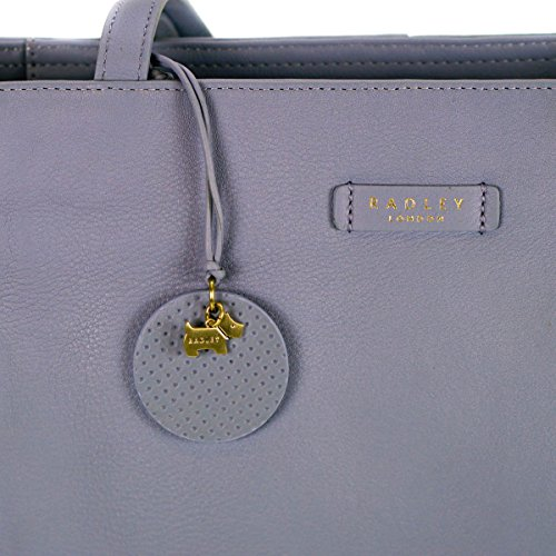 Leather Radley Radley Tote Longacre Bag Large Blue Longacre 4xfXxv