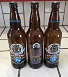 Belching Beaver [empty] beer bottles w/caps Hop hwy edition
